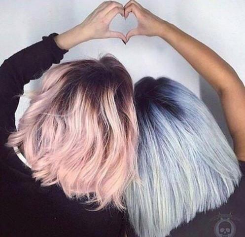 es soll so blau werden wie hier auf dem bild - (Haare, färben, blau)