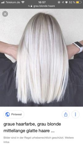 Blonde haare färben graue Haare selber