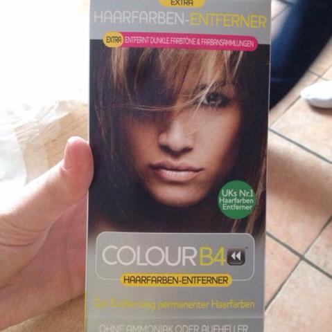 Haarfarben-Entferner (Colour B4) - (Haare, Geruch, unangenehm)