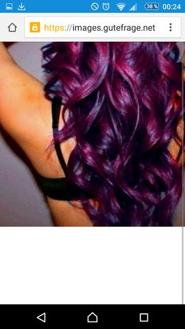 Die Farben habe ich ja aber wie geht's  - (Haare, färben)