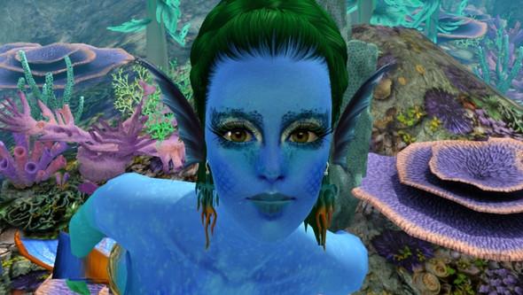 Wie Bekomme Ich Dieses Aussehen In Sims 3 Meerjungfrau Inselparadies