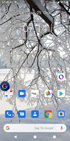 Wie bekomme ich dieses nervige Google-Logo vom Bildschirm meines Android Smartphones weg?