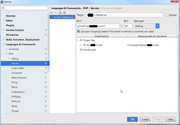 PhpStorm - (Server, Netzwerk, PHP)