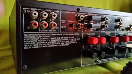 Das sind die anschlüsse - (HiFi, Verstaerker, Yamaha)
