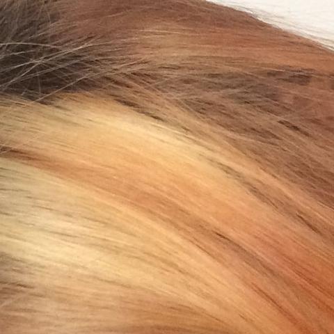 Jetzige Farbe  - (Haare, färben, Farbentfernung)