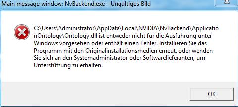 Fehlermeldung! - (Computer, PC, Fehlermeldung)