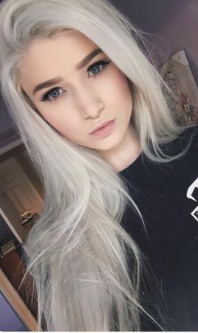 So hätte ich die Haare gerne - (Haare, Silber)