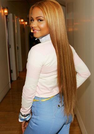 Haare blond karamell