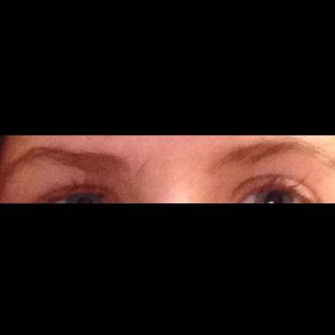 das sind meine jetzt  - (Augen, Augenbrauen, Perfekt)