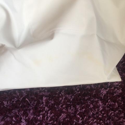 Weiße Longchamp Tasche Waschen