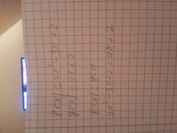 Was muss ich mit ax machen?  - (Mathematik, pq-Formel)