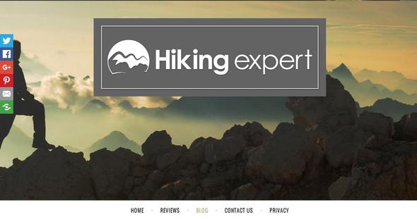 Das große Bild von hiking expert - (Computer, Internet, Technik)