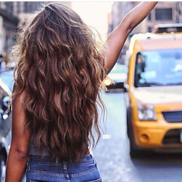 Lange haare wellen ohne hitze
