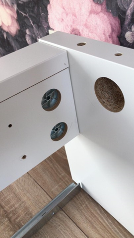 Wie Bekommt Man Diese Ikea Schrauben Rausgedreht Handwerk Bett Ikea Mobel