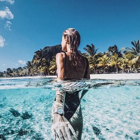 wie bekommt man so ein unterwasser foto hin?