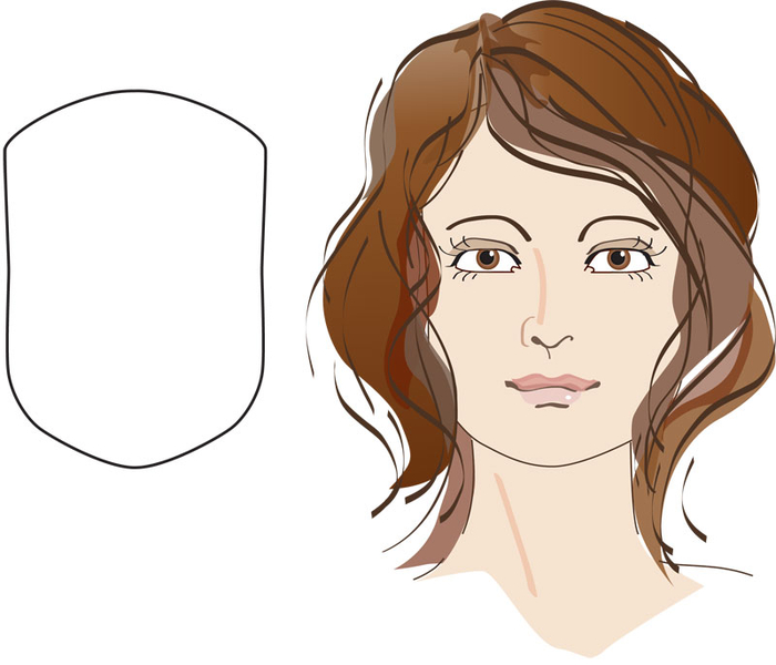 Frisuren Fur Eckiges Gesicht Frauen Haarschnitte Beliebt In Europa