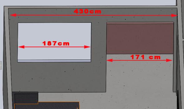 Wie bemaßt man Vorhänge/Gardinen für mein Wohnzimmer?