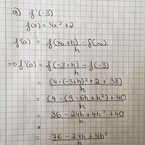 Das ist mein Ansatz... - (Mathe, differentialrechnung, Grenzwert)
