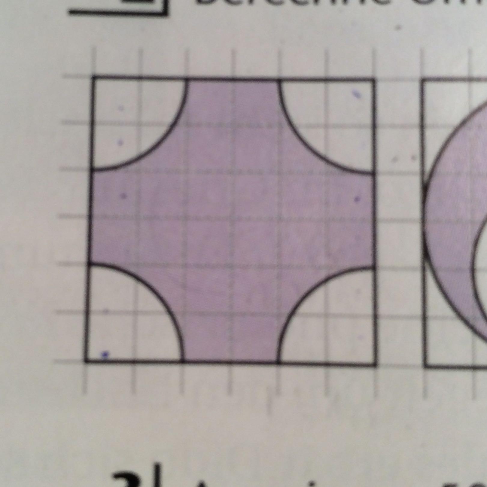 wie berechne ich den fl cheninhalt und umfang der lila fl che bitte hilfe schule mathe. Black Bedroom Furniture Sets. Home Design Ideas