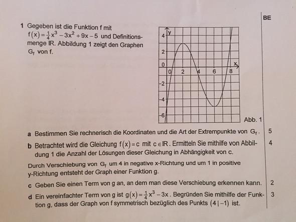 Aufgabenstellung  - (Schule, Mathematik, Abitur)