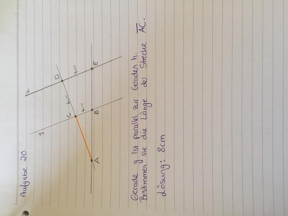 Die Aufgabe  - (Schule, Mathe, Mathematik)