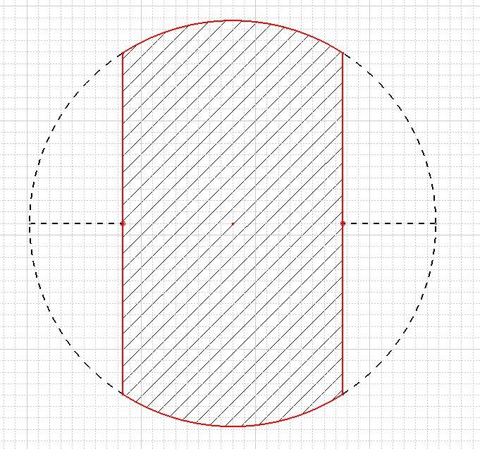 wie berechne ich diese kreis teilfl che mathematik geometrie. Black Bedroom Furniture Sets. Home Design Ideas