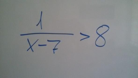 wie berechne ich diese ungleichung mathe mathematik gleichungen. Black Bedroom Furniture Sets. Home Design Ideas