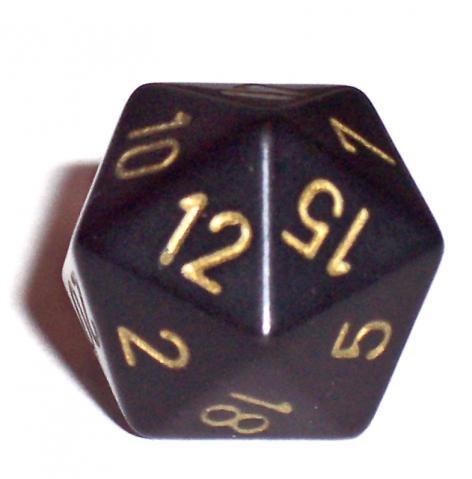 20 seitiger Würfel - (Mathematik, Berechnung, Würfel)
