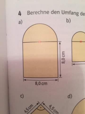 Wie berechnet man den Umfang der Figur?