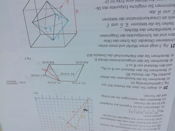 Wie berechnet man den Winkel(3dimensional)?
