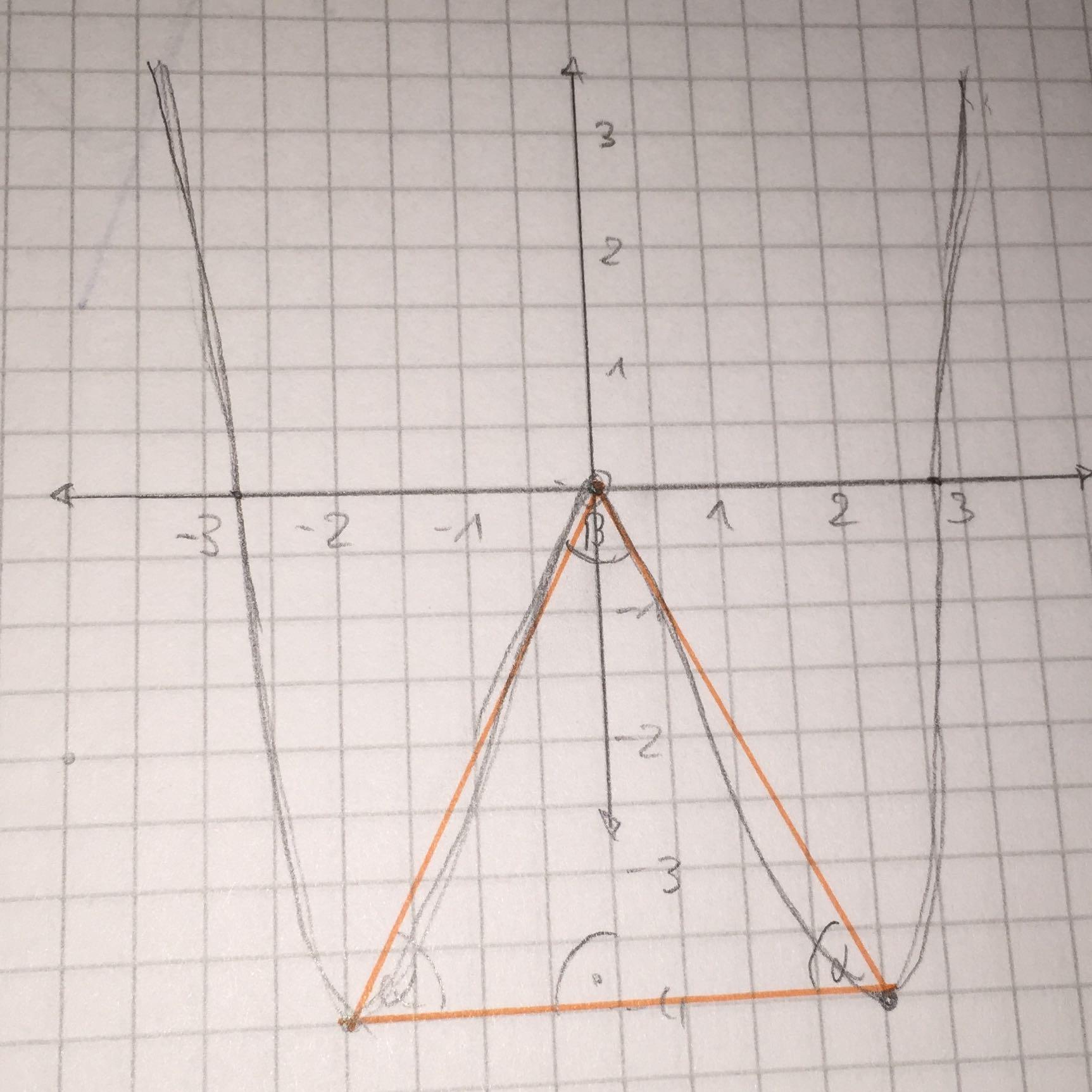 wie berechnet man die innenwinkel von diesem dreieck mathe funktion berechnen. Black Bedroom Furniture Sets. Home Design Ideas