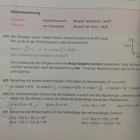 Aufgabe 690a - (Schule, Mathe, Mathematik)