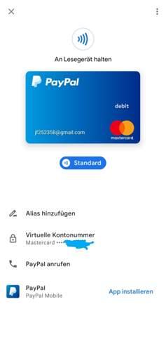 Google Payments Konto