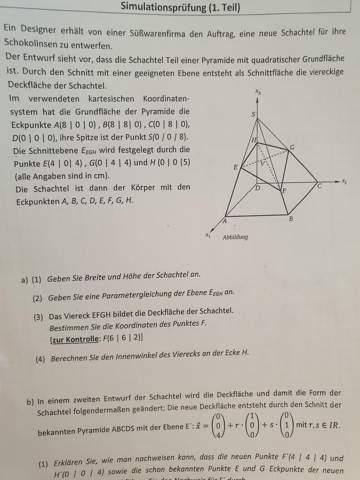 Wie bestimme ich den Punkt F?
