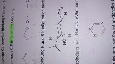 das ist die Struktur, auf die ich mich beziehe - (Chemie, Konfiguration, nomenklatur)