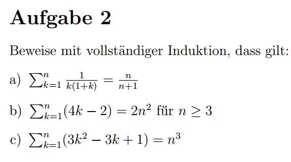 Die Aufgabe - (Mathe, Mathematik)
