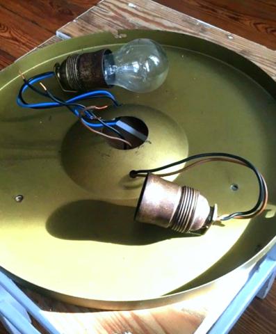 wie diese alte aber sch ne lampe anschlie en technik technologie strom. Black Bedroom Furniture Sets. Home Design Ideas