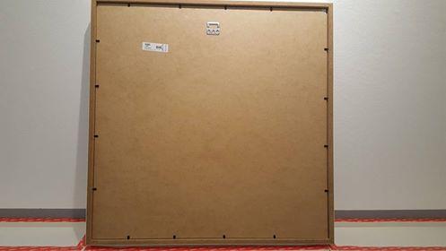wie dieses bild an der wand befestigen bilder aufh ngen. Black Bedroom Furniture Sets. Home Design Ideas