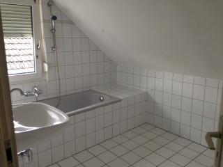 Dachschräge   (Handwerk, Renovierung, Badezimmer)