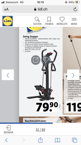Wie effektiv ist ein Swing Stepper?