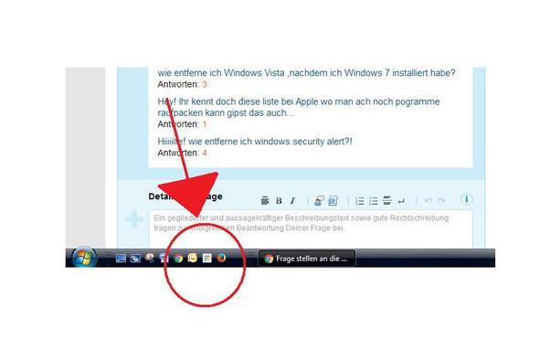 ich würde zum Beispiel Outlook hier gerne entfernen - (Windows, Vista, Outlook)