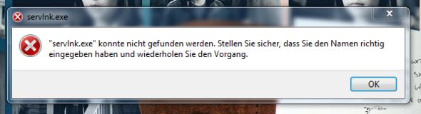 servInk.exe - (Computer, Programm, Windows 7)