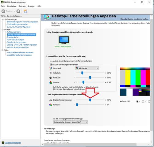 Grauschleier entfernen mit digitale Farbanpassung - (Computer, PC, Grafikkarte)