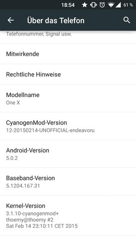 Android und CM Version - (Handy, Android, HTC)
