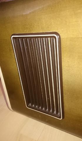 Plastikgitter von außen - (HiFi, Modellbau, Röhrenradios)