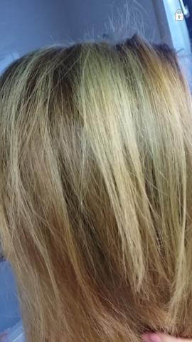 grüne Stellen - (Haare, Farbe, färben)