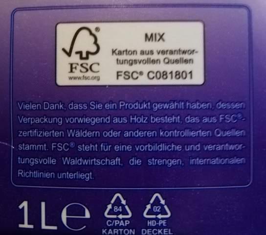 Wie entsorge ich eine fsc-zertifizierte Verpackung?