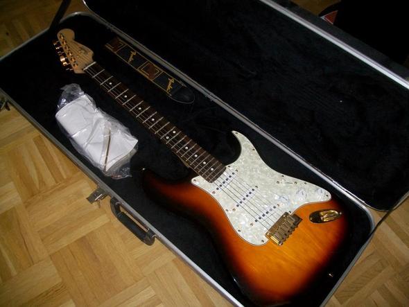 fender stratocaster special edition 1993 - (Gitarre, Instrument, E-Gitarre)