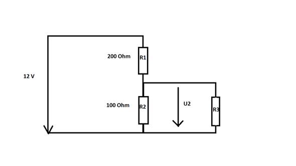 Spannungsteiler - (Physik, Elektronik, Elektrik)