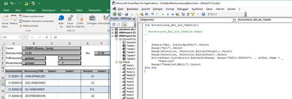 Auswertung_und_VBA-Aufzeichnung - (Excel, makro, VBA)